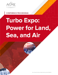 Turbo Expo: Power for Land, Sea, and Air