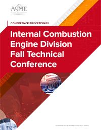 Internal Combustion Engine Division Fall Technical Conference