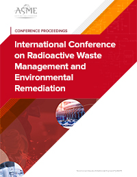 International Conference on Radioactive Waste Management and Environmental Remediation