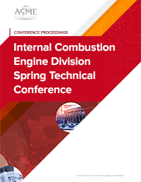 Internal Combustion Engine Division Spring Technical Conference