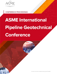 ASME International Pipeline Geotechnical Conference