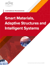 Smart Materials, Adaptive Structures and Intelligent Systems