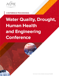 Water Quality, Drought, Human Health and Engineering Conference