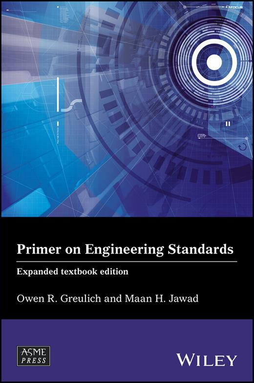 Cover of Primer on Engineering Standards, Expanded Textbook Edition