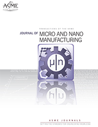 Cover of Micronanomanufacturing